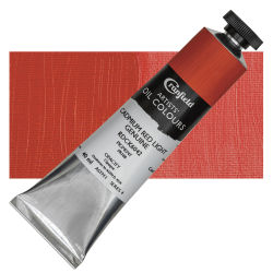 Cranfield Artists' Oils - Cadmium Red Light Genuine, 40 ml, Tube