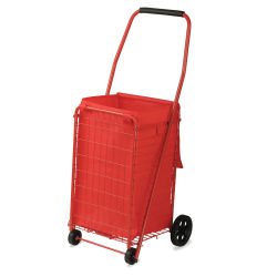 Sandusky Lee Folding Shopping Cart - 66 lb Capacity