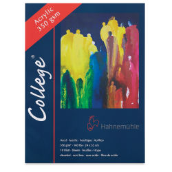 Hahnemühle College Acrylic Block - 9'' x 12-1/2'', 10 Sheets