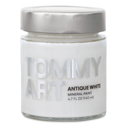 Tommy Art Mineral Paint - Antique White, 140 ml