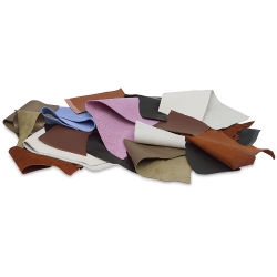 Premium Leather Remnants, 1 lb Bag