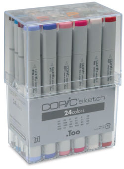 Copic Basic Set of 24 Markers