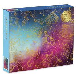 Astrology 1,000 Piece Puzzle for Adults, Foil Puzzle with Astrological Star Signs