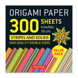 Tuttle Origami Pack Stripes and Solids