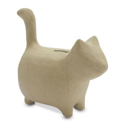DecoPatch Paper Mache Money Box - Cat
