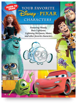 Learn to Draw Your Favorite Disney-Pixar Characters - Paperback