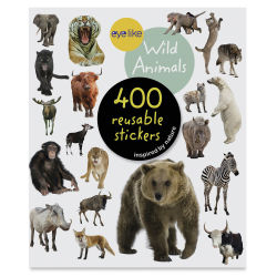 Eyelike Wild Animals Reusable Stickers, Book Cover