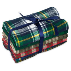 Fabric Palette Pre-Cut Fabric - Yarn Dyed Flannel, 5-Piece Bundle