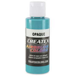 Createx Airbrush Color - 2 oz, Opaque Aqua