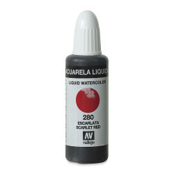 Vallejo Liquid Watercolor - Scarlet Red, 32 ml