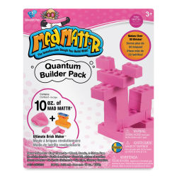 Mad Mattr Quantum Builder Pack - Pink, 10 oz
