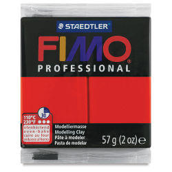 Fimo Professional Clay - True Red, 2 oz