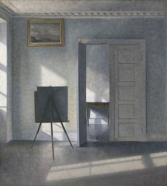 Interior with an Easel