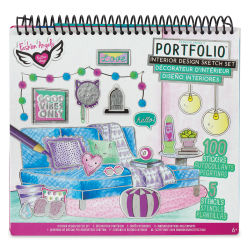 Fashion Angels Interior Design Sketch Set