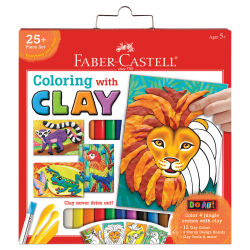 Faber-Castell Coloring with Clay Kit