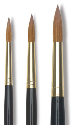 Da Vinci Maestro Kolinsky Full Belly Round Brushes
