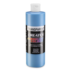 Createx Airbrush Color - 16 oz, Transparent Maui Blue
