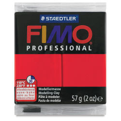 Fimo Professional Clay - Carmine, 2 oz