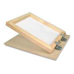 Professional Grade Screen Printing Unit - 18'' x 24'', Unit with 14'' Squeegee