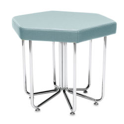 OFM Hex Stool - Aqua