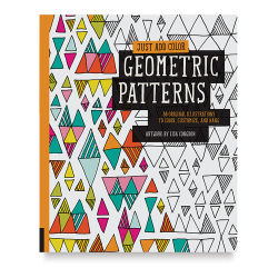 Just Add Color Series Coloring Book - Geometric Patterns
