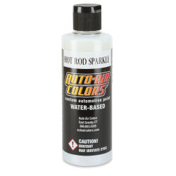Createx Auto Air Color - 4 oz, Hot Rod Sparkle White