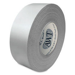 AWT Solvent and Water Resistant White Cloth Tape - 2'' x 60 yd roll
