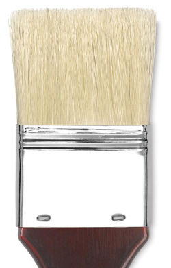 Blick Masterstroke Pure White Brush - Hog Bristle Skywash