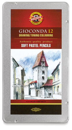 Soft Pastel Pencils, Set of 12