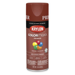 Krylon Colormaxx Primer - Red Oxide, 12 oz