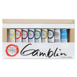 Gamblin 1980 Oils - Introductory Set