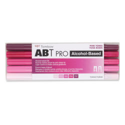 Tombow ABT Pro Alcohol Markers - Pinks, Set of 5