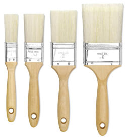 Linzer Bristle/Polyester Gesso Brushes