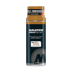 Molotow Urban Fine-Art Artist Acrylic Spray Paint - Umber Middle, 400ml Can