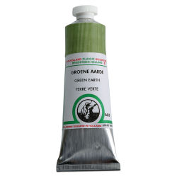 Old Holland Classic Oil Color - Green Earth, 40 ml tube