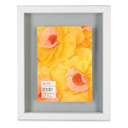 "Nielsen Bainbridge Snap Float Frame - White, 8"" x 10"""