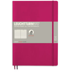 Leuchtturm1917 Notebook - Composition Notebook, Berry, Ruled, 10'' x 7''