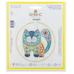 DMC Stitch Kit - Cat (In packaging)
