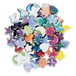 Diamond Tech Whimsy Shape Tiles - Iridescent, 8 oz