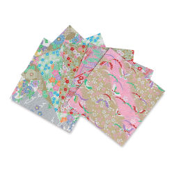 Shinwazome Chiyogami Origami Paper, Pkg of 7