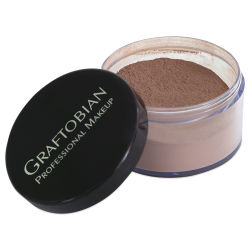 Graftobian HD LUXE Cashmere Setting Powder - Chocolate Mousse