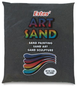 Estes' Colored Art Sand - 2 lb, Black