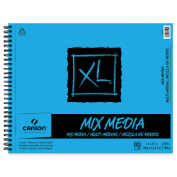 Canson XL Mix Media Pad - 14'' x 17'', Portrait, 60 Sheets