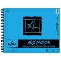 Canson XL Mix Media Pad - 14'' x 17'', Landscape, 60 Sheets