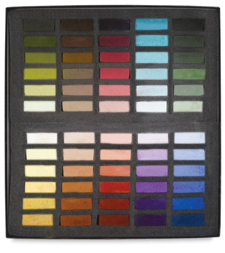 Terry Ludwig Soft Pastels - Maggie Price Basic Values, Set of 60