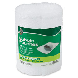 ShurTech Duck Bubble Wrap - Bubble Pouches, Pkg of 20, 7-1/2'' x 7-1/2''