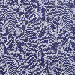 Aitoh Japanese Decorative Paper - Wave, Blue, 21-1/2'' x 31-1/2''