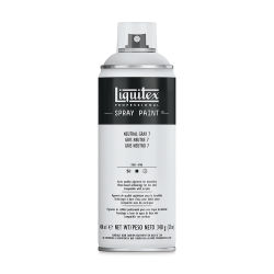 Liquitex Professional Spray Paint - Neutral Gray 7, 400 ml can