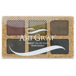 ArtGraf Viarco Pigmented Tailor Chalk and Sets - Earth Tone Set of 6