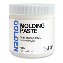 Golden Molding Paste Medium - 16 oz jar